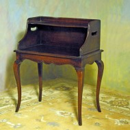 A005 Vintage Country French style chairside book table in solid mahogany