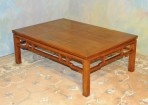 #35 Vintage coffee table of nice Asian design made in the U.S.A