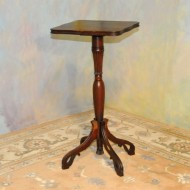 A019 Antique fern stand of mahogany