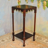A028 New Plant Stand of solid mahogany Great design