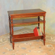 A033 Vintage Chairside/book table – traditional/colonial style
