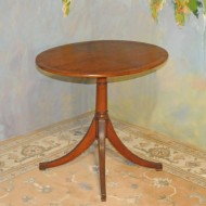 A044 Vintage Oval Table – 4-way book matched walnut veneer top with rosewood banding