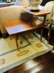 #567 & #565 Mid Century Step End Table