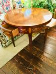 #963 Baker-Federal Satinwood Inlay Table
