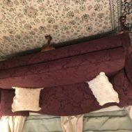 #274 Sofa new camel back design